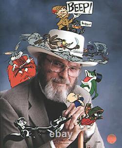 Chuck Jones Signé En Caractère 1997 Warner Brothers Edition Limitée De 485