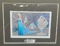 Disney Elsa & Anna Frozen Matted Character Key Cels Framed Limited Edition Le500