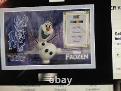 Disney Frozen Olaf Character Key Cel Set 500 Edition Limitée Acme Archives
