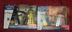 Doctor Who History Of The Daleks Sets 5 & 7, Limited Edition Collectors Article
