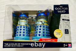 Dr Doctor Who The Jungles Of Mechanus Edition Limitée Ensemble De Figures Dalek