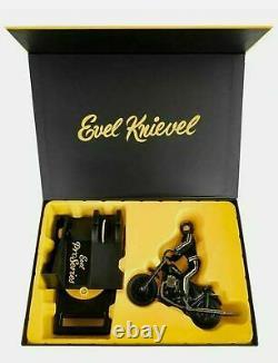 Evel Knievel Stunt Cycle Retro Pro Series Edition Limitée
