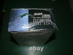 Factoire Seled Star Trek The Next Generation Boîte De Booster En Édition Limitée De La Gcc