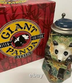 Giant Panda Edition Limitée Personnage Lidé Stein Anheuser-busch Gerz Gm8