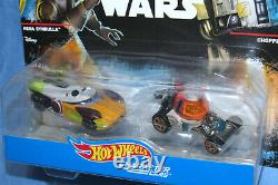 Hot Wheels Star Wars Rebels Caractère Cars Hera Syndulla & Chopper Set 1/64