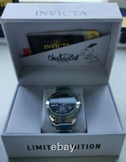 Invicta Limited Edition'peanuts' Mens Watch Rare Snoopy Caractère Brand New Box