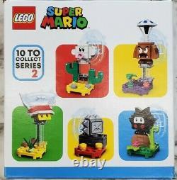 Lego Super Mario Character Packs Série 2 Boîte / Cas De 20 71386 Expédie Rapidement