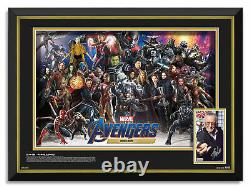 Marvel Avengers Mcu Characters Framed Stan Lee Signed Photo Limited Edition