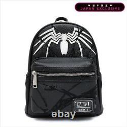 Marvel Comics Character Venom Mini Rucksack Japon Édition Limitée Loungefly Nouveau