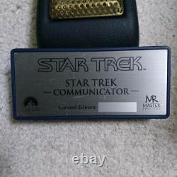 Master Replicas Star Trek Tos Communicator Edition Limitée Prop