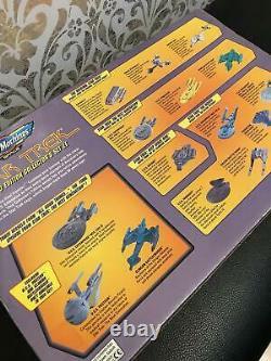 Micro Machines Star Trek Edition Limitée Ensemble Collectionneurs 1995 Japonais Tsukuda