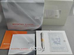 Montblanc 2009 Grands Personnages Mahatma Gandhi Artisan Limited Edition 241