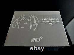 Montblanc 2010 Grands Personnages John Lennon Artisan Limited Edition 70 Squelette