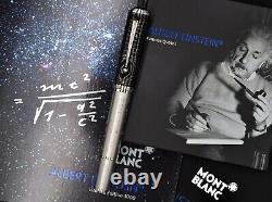 Montblanc 2012 Grands Personnages Albert Einstein Limited Edit 1500 Rollerball Pen