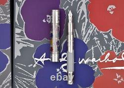 Montblanc 2015 Andy Warhol Great Characters Edition Limitée Fp Le 50/1928 M