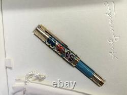 Montblanc 2015 Grands Personnages Andy Warhol 100 Limited Edition Fountain Pen