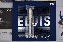 Montblanc 2020 Grands Personnages Elvis Presley Edition Limitée 1935 Funtain Pen