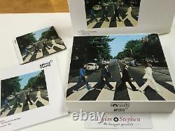 Montblanc Grands Personnages Des Beatles 1969 Stylo Plume En Édition Limitée Nouveau