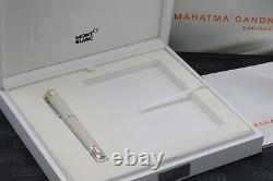 Montblanc Grands Personnages Mahatma Gandhi Edition Limitée Rollerball Pen Unused