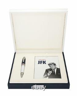 Montblanc Jfk Great Characters Edition Limitée De 1917 White Ballpoint 111635