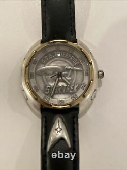 Nouveau Star Trek Li-1407 Edition Limitée Fossil Mens (11 445/15 000) Uss Enterprise