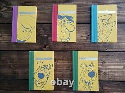 Rare 1ère Édition Hanna-barbera Guides De Référence De Caractère- Flintstones Jetsons +