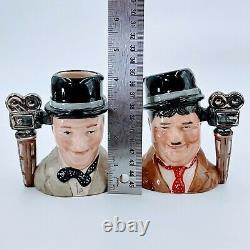 Royal Doulton Caractère Jugs Laurel & Hardy. Édition Limitée. 5. Détachement D'occasion