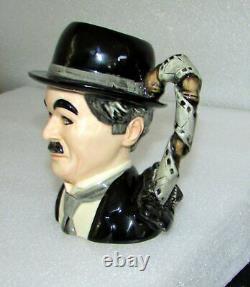 Royal Doulton Charlie Chaplin D7145 Character Jug Edition Limitée