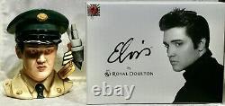 Royal Doulton, Elvis, G. I. Blues, Character Jug, Edition Limitée