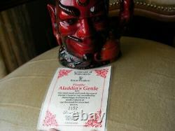 Royal Doulton Personnage Toby Jug Aladin's Genie Flambe Limited Edition D6974