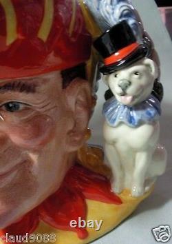 Royal Doulton Punch & Judy - Double Face Caractère Jug -ltd Ed 262/2500 D6946