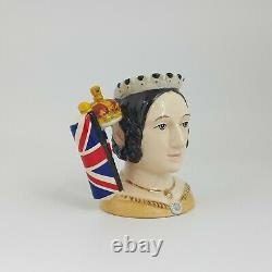 Royal Doulton Queen Victoria Petit Personnage Jug D7072 Edition Limitée