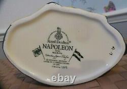 Royal Doulton(item530) Napoleon D6941 Large Caracter Jug. Édition Limitée Menthe