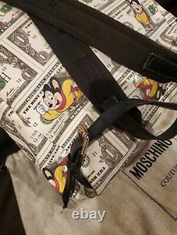Sac À Dos Moschino Mighty Mouse 100% Pvc Authentique Moschino Couture Milano