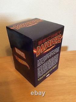 Sdcc 2015 Exclusive Hot Wheels Marvel Secret Wars 3 Pack Caractère Voiture Nouveau Mib