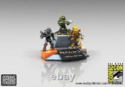 Sdcc 2015 Mega Bloks Halo 5 Guardians Character Pack Limited Edition Metallic
