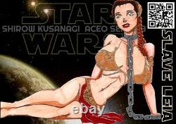 Shirow (4) Aceo Art Cards Lot Commiss'n Sexy Nsfw Comic Cartoon Caractères De Film