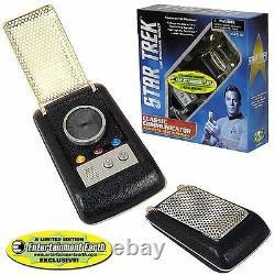 Star Trek Communicator Tos Replica Prop Light + Sound Édition Limitée