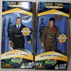 Star Trek Edition Limitée Mister Spock & James T. Kirk Une Pièce De L'action
