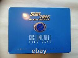 Star Trek The Next Generation Customizable Card Game Ltd Edition Collector's Tin