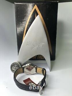 Star Trek Uss Enterprise Edition Limitée Montres Fossil Et Boîte D'affichage