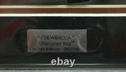 Star Wars Animated Acme Caracter Key Chewbacca Limited Edition Lucasfilm Ltd