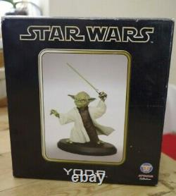 Star Wars Attakus Yoda Limited Edition Boxed
