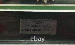 Star Wars Clone Wars Acme Caracter Key Yoda Limited Edition Lucasfilm Ltd
