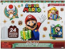Super Mario Advent Calendar Limited Xmas Edition 24 Personnages Populaires Précommander