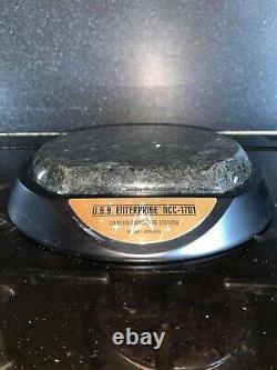 U. S. S Enterprise Ncc-1701 Bronze Collectors Edition Edition Signature Limitée