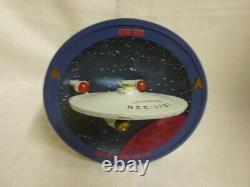 Uss Enterprise Ncc-1701 Star Trek Bradford Exchange Limited Edition Plaque 3d