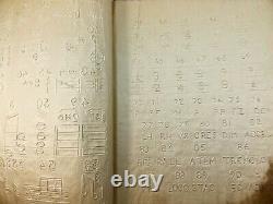 X Rare Book 1879 Personnages Musicaux Pour Musique Braille Aveugle Seulement 2 Connus