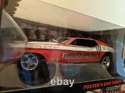 (nib) Die-cast 118 Légendes Du Quartier Mile 1972 Ford Mustang Nhra